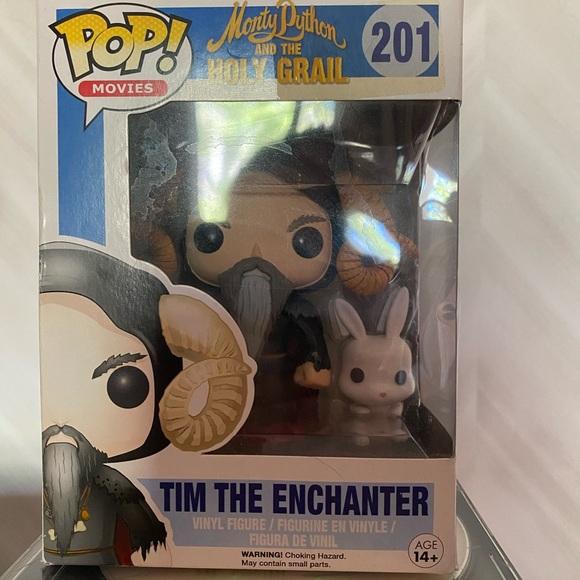 Funko Pop Tim the Enchanter with rabbit, NIB